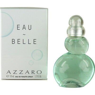 Eau Belle Azzaro 1.7 OZ Eau De Toilette Spray NEW IN SEALED BOX (Azzaro Eau Belle Edt)