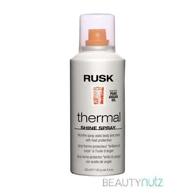 Shine Spray - RUSK Thermal Shine Spray with Pure Argan Oil 4.4 oz