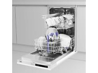 BECKO DIS15011 FULLY INTEGRATED SLIMLINE DISHWASHER - ONLY £180 - BRAND NEW!!! IN BOX!!