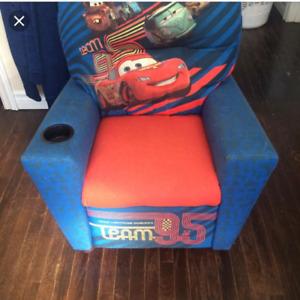 kids lightning McQueen recliner