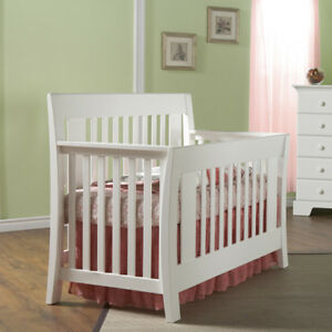 Convertible Crib Emilia,Double Dresser and Night Stand - 1,200 $