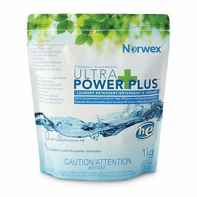 (2) Norwex Ultra Power Plus Laundry Detergent  Ultra Laundry Powder