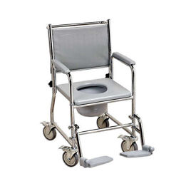 Toilet Commode with Wheels