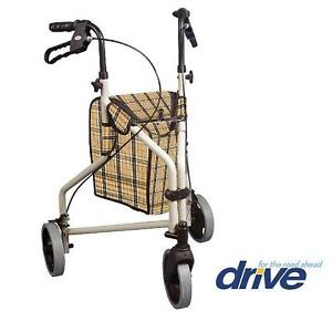 NEW DRIVE MEDICAL WALKER ROLATOR WINNIE LITE SUPREME 110060144