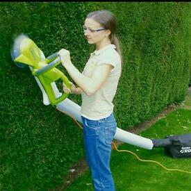 Hedgetrimmer and vac, new