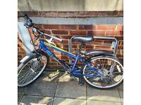Piranha Carbonite 24 inch Wheel Size Kids Hybrid Bike843/5134 (Almost brand new)