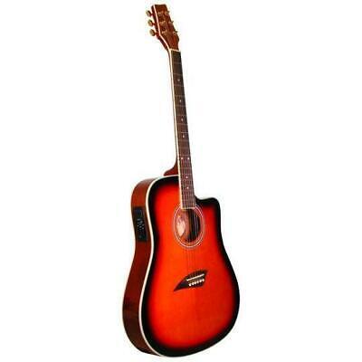 Kona K2 Series Thin Body Acoustic Electric Guitar K2SB