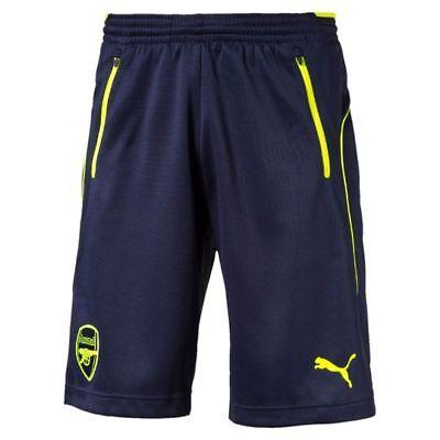 Puma Arsenal Men's Football Training Shorts - Small (S) - Navy - New