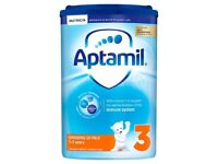 I want to buy large quantity of Aptamil powder milk, cow and gate powder milk and pampers all sizes