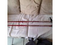 Pair of Atomic ski poles