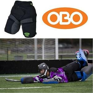 NEW OBO FIELD HOCKEY SHORTS MED OBO ROBO BORED SHORTS GOALKEEPING GOAL KEEPING GOALTENDER 111230283