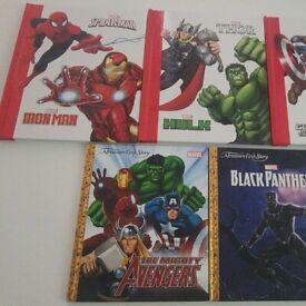 Marvel Books x 5