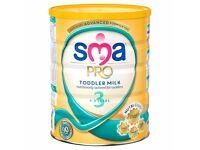 SMA Toddler Milk - NEW & UNOPENED