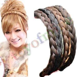 new fashion korean jewelry braided hair braids hair bands