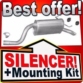 Rear Silencer FIAT IDEA LANCIA MUSA & YPSILON 1.4 95PS SINCE 03 Exhaust Box BCT