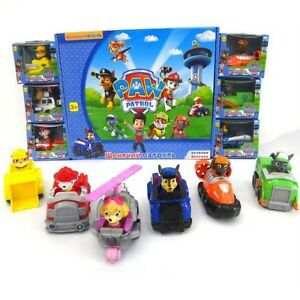 paw patrol la pat 39 patrouille set 6 figurine voiture 6 figures cars ebay. Black Bedroom Furniture Sets. Home Design Ideas