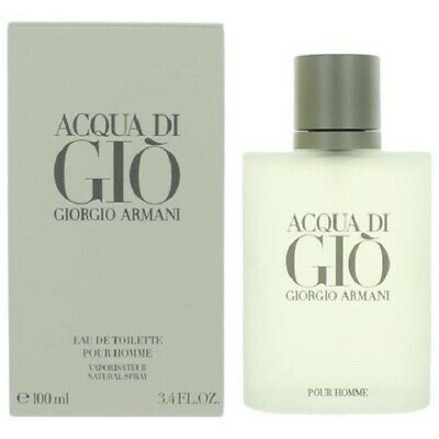 Acqua Di Gio By Giorgio Armani 3.4 oz / 100ml For Men Eau de Toilette Sealed Box