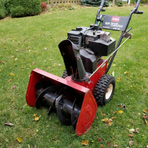 "Used TORO 2 stage 24"" snow thrower"