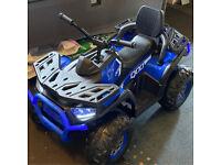 UTV ACTION JEEP quad bike 12v 4X4 wheel drive ride on 10AH battery jeep 4 x motors