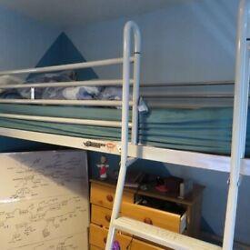 Jeybe Silver Cabin Bed, model: Studio3 bunk 177
