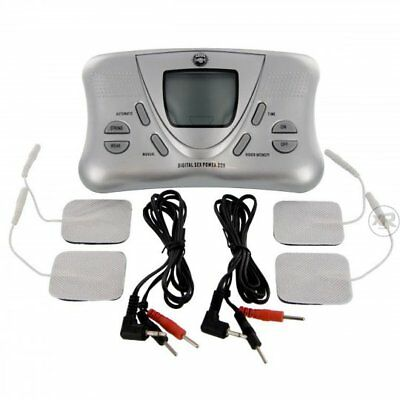 Zeus Electro Deluxe Digital Power Box Powerful Massager Massage Kit Discreet S&H Digital Power Kit