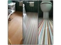 High Quality Carpet & Vinyl Fitting Full Insured