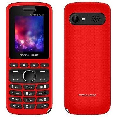 Telefono móvil DUAL SIM Maxwest Uno M6 Plus Radio FM Bluetooth con...