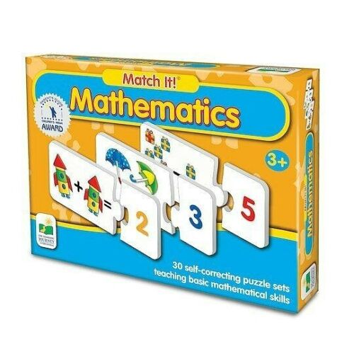 Match It!   Mathematics Puzzle Game   for ages 3 and up    NEW!