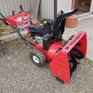 """NEW 26"""" Snowblower with Luxury Options"""