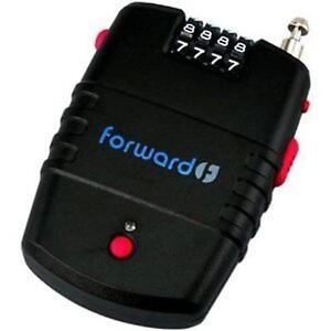 Forward Dual Mode Motion Sensor 100dB Alarm Cable Security Combination Lock