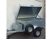 CAMPING STYLE HINGED LID TRAILER WOULD SUIT HANDYMAN WITH TOOLS AVAILABLE AT ARMAGH TRAILERS