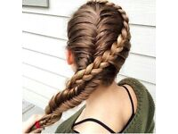 Looking for a model for a BRAID hair styling.