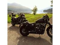Harley Davidson XL 883 Iron denim