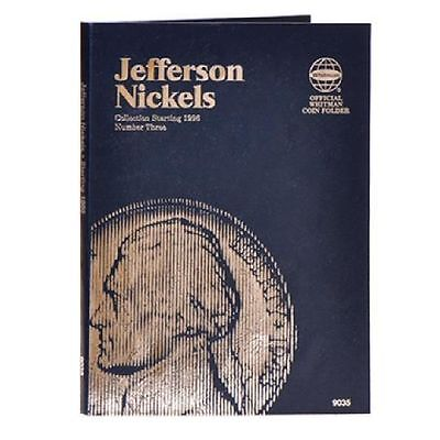 - Whitman Coin Folder 9035 Jefferson Nickel #3 1996-2015D