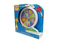 Little Tikes Memory Match Spinning Game ZOO Animals Find 'n' Seek Toy
