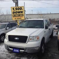2006 Ford F-150 CERTIFIED- EXTENDED CAB 4X4 LONG BOX WORK & PLAY