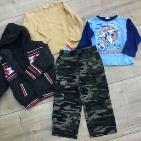 Boys' clothes, for approx 3yrs, some new; charity sale