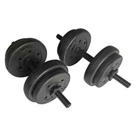 Brand new boxed dumbbell gym weights set