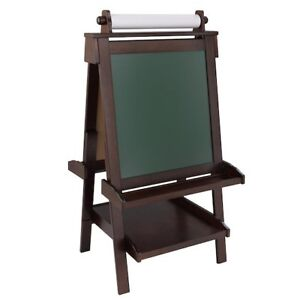 Deluxe Wooden Easel - Espresso by KidCraft - BRAND NEW IN BOX