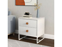 Bedside Cabinet with 2 Drawers ( 2 Cabinets )