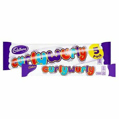 Cadbury Curly Wurly British Chocolate Bar x 5 (130g) Curly Wurly Chocolate Bar