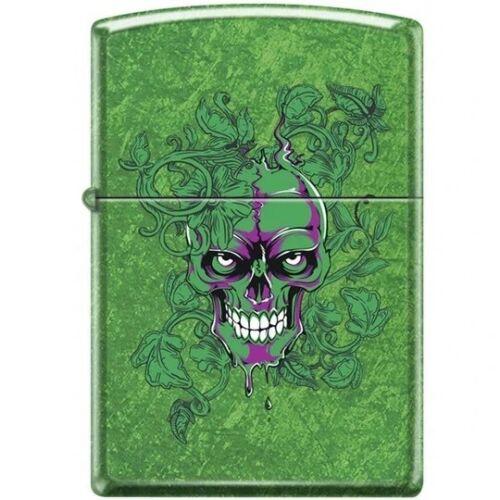 Zippo Lighter - Hidden/Laughing Skull Meadow - 854045