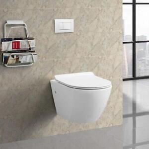 Swiss Madison SM-WT449 Sublime Wall Hung Toilet Bowl NEW ** 5 CORNERS FURNITURE**