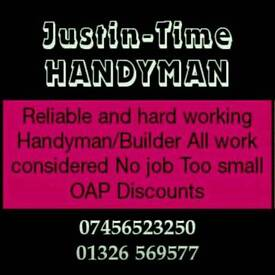 Handyman with over 20 years experience