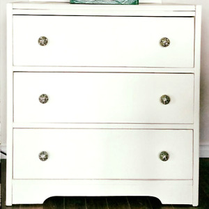Restyled Antique Chest of Drawers