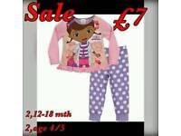 Girls doc mcstuffins pyjamas