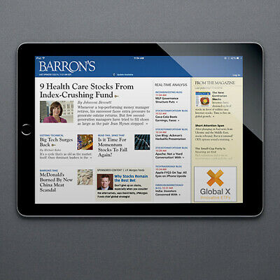 Barron's 5-Years Digital Subscription All Platforms Region Unsrestricted