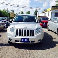 2009 Jeep Compass CERTIFIED 4WD AUTO A/C Loaded
