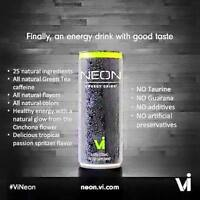 "#1Healthy Energy Drink ""Neon"""