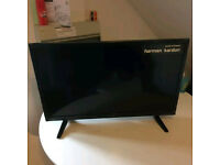 NEW SHARP LED 32 INCH WIDESCREEN FREE VIEW DIGITAL FULL HD READY TV WITH REMOTE AND STAND *BARGAIN*